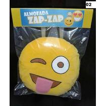 Almofadas Bordadas Zap Zap