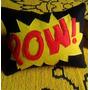 Almofada História Em Quadrinhos - Pow