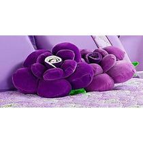 Almofada Flor Em Malha 01 Peça - Bordados De Ibitinga