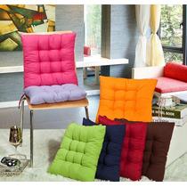 Kit 8 Almofadas Futon Assento Cadeira Decoração Sofá