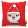 Almofada Decoração De Natal Papai Noel Clima Natalino