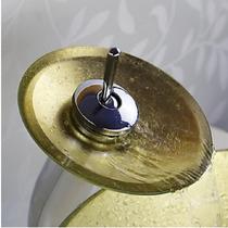 Torneira De Vidro Dourada Prata Amarela Roxa Vermelha Preta