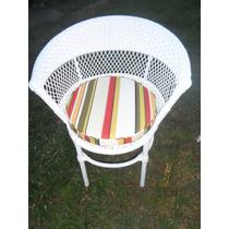 Almofada Impermeável Para Cadeiras De Vime 1.00 X 0.40 X 5cm