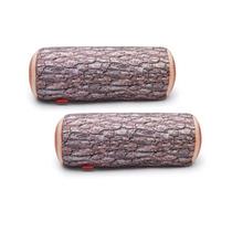Almofada Tronco De Árvore Original Com Enchimento 4 Unidades