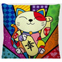 Almofada Pop Art Gato - 01 Peça - Bordados De Ibitinga