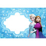 Painel De Aniversario Frozen +nome 39,99(tecido Oxford)