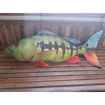 Almofada Decorativa De Peixe - Tucunaré