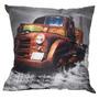 Almofada Impressão Digital Caminhão Velho Terra 42x42 Cm -