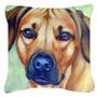 Rhodesian Ridgeback Tecido Decorativa Pillow 7437pw1414