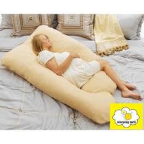 Almofada Gigante Super Abraço Gravidas Mulheres Dormir