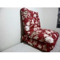 Sofá-cama Futon , Dobrável Em S, Almofada,almofadão.p/pallet