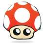Almofada De Pelúcia Super Mário Gamer 3d - Cogumelo Vermelho