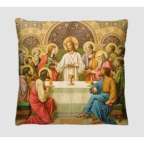 Almofada Decorativa Religiosa - Santa Ceia, Sagrada Familia