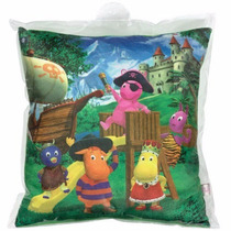 02 Almofadas De Pelucia Backyardigans Original Long Jump
