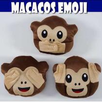 Almofada Emoji Macaco Atacado 20 Un