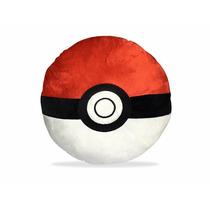 Almofada De Pelúcia Pokemon Pokébola 40 Cm