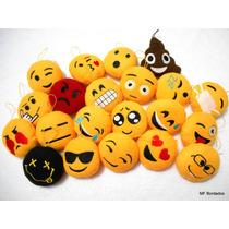 Kit 100 Chaveiros Emoji Emoticons Whatsapp - Atacado Revenda