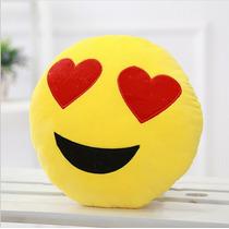 Almofada Emoji Emoticons Apaixonado Presente Natal Coração