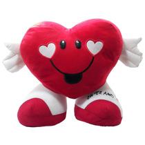 Almofada Coração Eu Te Amo Namorados 38 Cm Pelúcia Presente