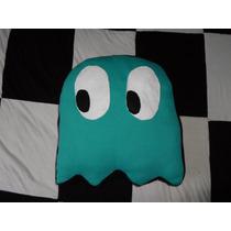 Almofada Pacman(pac Man) - Fantasma Inky