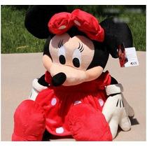 Boneco Pelúcia Disney Minnie Vermelha 45cm