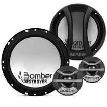 Kit Duas Vias Bomber Destroyer 240 Rms Two Way + Tweeter Som