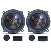 Falante 5 Kit 2 Vias Bravox Cs50 Premium 120w Rms