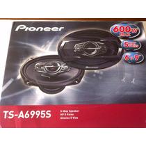 Alto Falante 6x9 Pioneer Par Ts-a6995s 600w 5vias