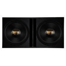 Caixa C/ 2 Sub Woofers Target Bass 3k Eros 3000wrms