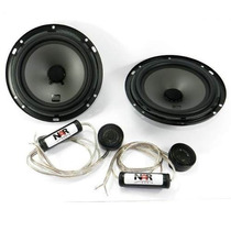 Falante Nar Kit 2 Vias Nar Audio 600 Cs1 Falante + Tweeter