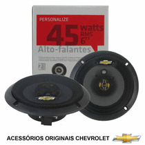 Kit De Alto-falantes 6 45w Rms Genuino Gm 94755526 Corsa