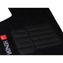 Tapete Carpete Honda Universal Personalizado
