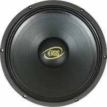 Alto Falante Woofer 12 Eros E 450lc Black - 450 Watts Rms