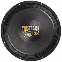 Woofer Eros 15 Pol Target Bass 3.0k 1500w Rms 4 Ohms Falante