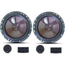Falante 6 Kit 2 Vias Bravox Cs60 Premium 120w Rms