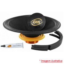 Kit Reparo Original Eros E-510 Lc / Black (4 Ohms) 10 Pol.