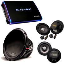 Kit Pro Audiophonic C/ Club 800.4 + C1-10d2 + Cs650 + Ks6.1