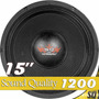 Ultravox 15 Sound Quality 1200w Rms Sq1215 Woofer 4 Ohms
