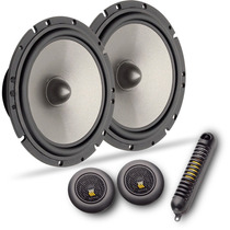 Kit 2 Vias Bravox Cs60b 6 Pol. Mid Bass Tweeters Crossovers