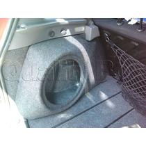 Caixa De Fibra Lateral Reforçada Peugeot 206 / 207 / Sw