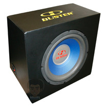Caixa Selada H-buster 200w Rms C/ Subwoofer 12 Pol Swf-1214c