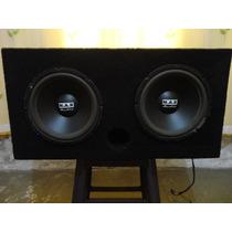 Caixa Selada - 2 Subwoofer N.a.r Audio 12