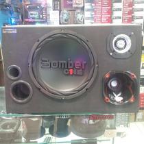 Caixa Som Trio Bomber One Completa+modulo+tweeter+driver