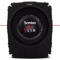 Caixa De Som Selada Slim Bomber Subwoofer 10 Polegadas 200w
