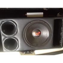 Caixa Trio Ultra 550 Com Modulo Soudigital 1600rms 2 Ohms