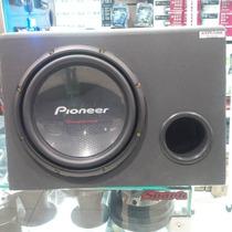 Caixa Som Dutada Pioneer Cara Preta + Kit 2 Vias + 2 Modulos