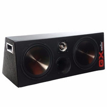 Caixa Trio Dupla Selada Gx-audio 12600 +tweeter+modulo 600w