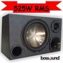 Top Melhor Caixa Som Trio Sub Woofer Bossound 525 Watts Rms