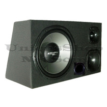 Caixa Trio Automotiva Completa Sub 12+corneta+super Tweeter