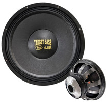 Subwoofer Eros 15 Pol. Target Bass 4.5k - 2250w Rms Bs 4 Ohm